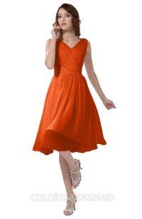 ColsBM Alexis Tangerine Bridesmaid Dresses - ColorsBridesmaid