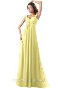 ColsBM Diana Pastel Yellow Bridesmaid Dresses ...