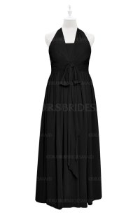 ColsBM Nyla Black Plus Size Bridesmaid Dresses ...