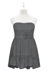 ColsBM Paityn Grey Plus Size Bridesmaid Dresses ...