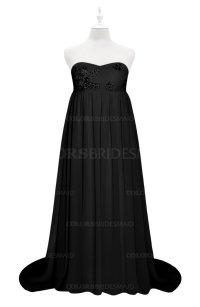 ColsBM Milania Black Plus Size Bridesmaid Dresses ...