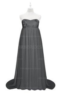 ColsBM Milania Grey Plus Size Bridesmaid Dresses ...