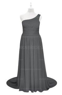 ColsBM Raelynn Grey Plus Size Bridesmaid Dresses ...