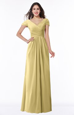 modest bridesmaid dresses gold