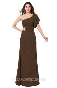 ColsBM Camryn Chocolate Brown Bridesmaid Dresses ...