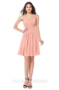 ColsBM Scarlet Peach Bridesmaid Dresses - ColorsBridesmaid