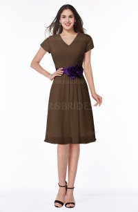 ColsBM Margot Chocolate Brown Bridesmaid Dresses ...