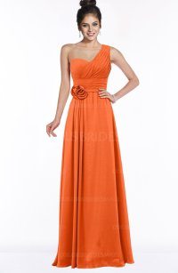 ColsBM Tegan Tangerine Bridesmaid Dresses - ColorsBridesmaid