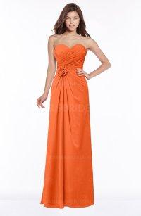 ColsBM Aitana Tangerine Bridesmaid Dresses - ColorsBridesmaid