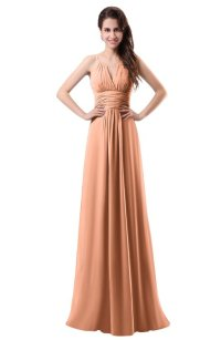 ColsBM Daisy Salmon Bridesmaid Dresses - ColorsBridesmaid