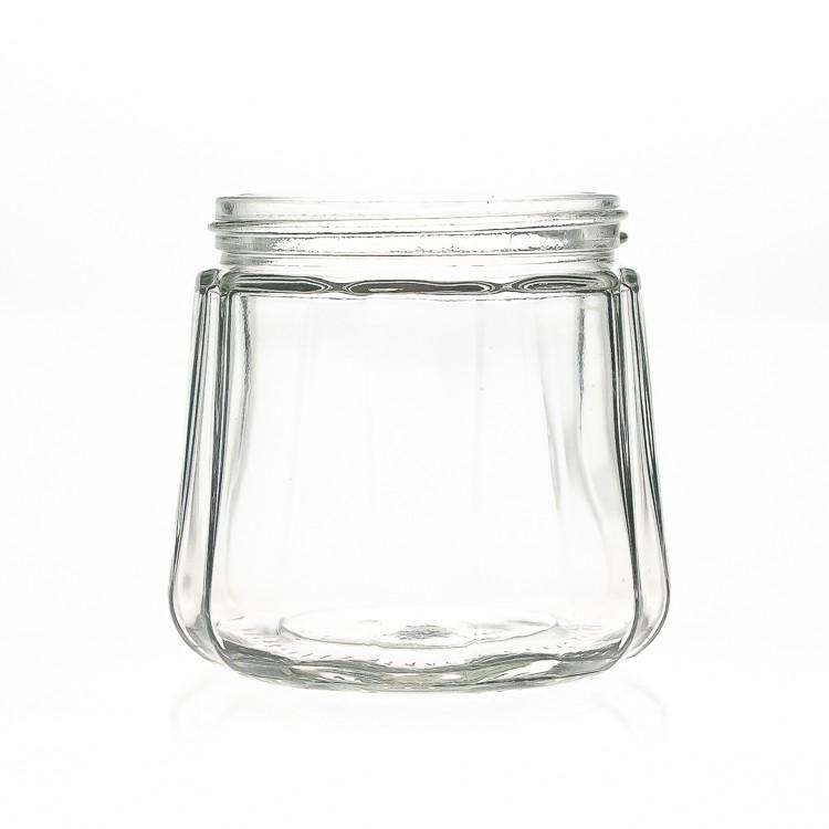 cheap empty 300ml 10oz wide mouth jam jar glass jar with