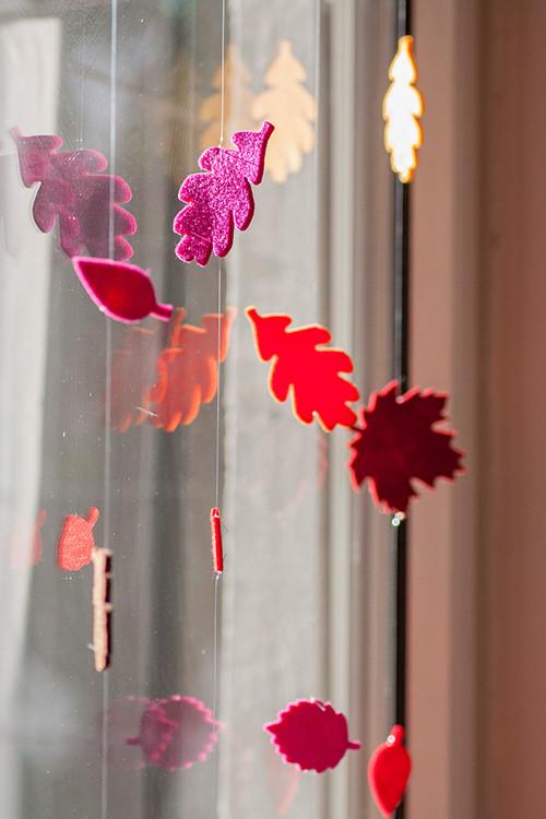 Gebastelt Herbst Fensterdeko  ColorSpell