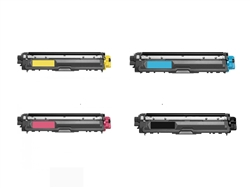 Brother TN225 4-Color Remanufactured Toner Set