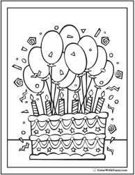 Printable Coloring Pages Color With Fuzzy!