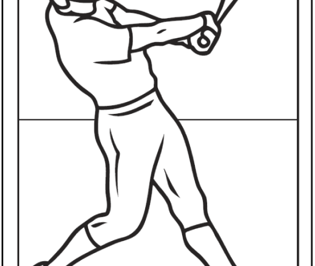 Baseball Coloring Pages  E C A Customize And Print Pdfs