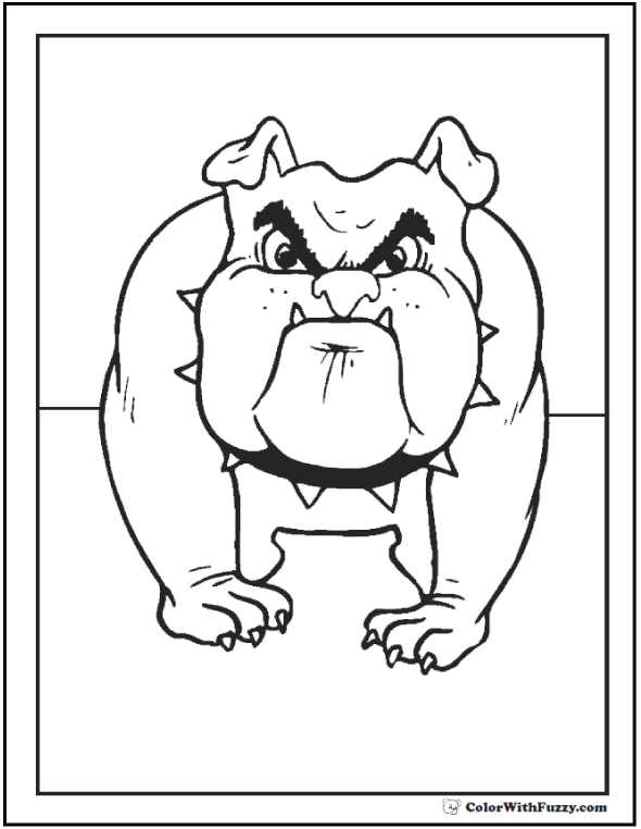 35+ Dog Coloring Pages Breeds, Bones, And Dog Houses