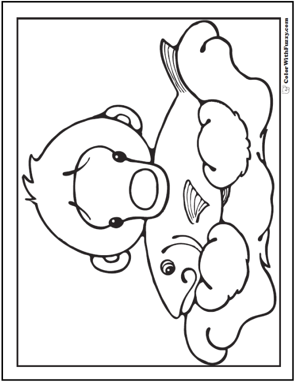 16 Polar Bear Coloring Pages: Arctic Giants, Cute Babies