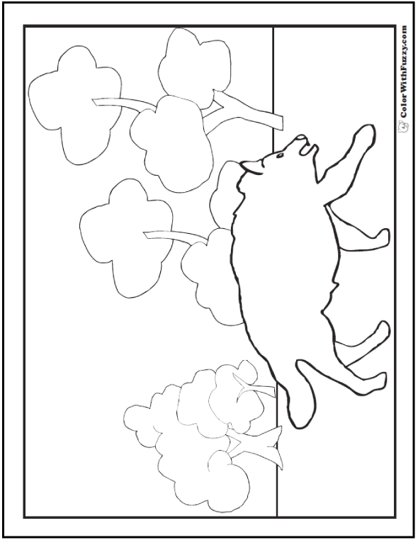 Wolf Coloring Pages: Print And Customize