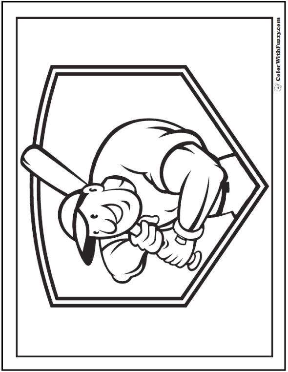 Pittsburgh Pirates Logo Stencil Sketch Coloring Page
