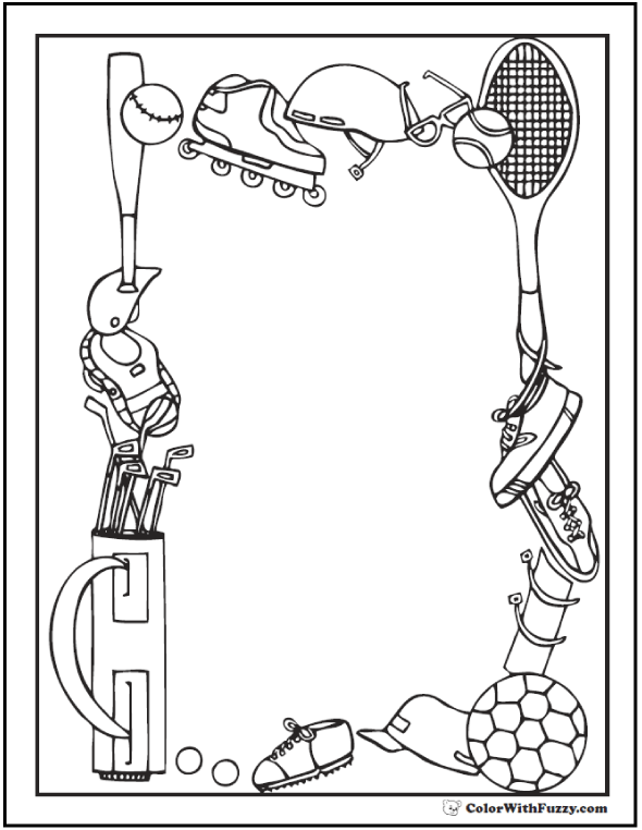 Track And Field Day Coloring Sheets Coloring Pages
