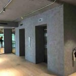Polished Plastering for offices in London Cannon Street