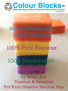 West Coast Recycle Crayon Program | Colour Blocks| old crayons