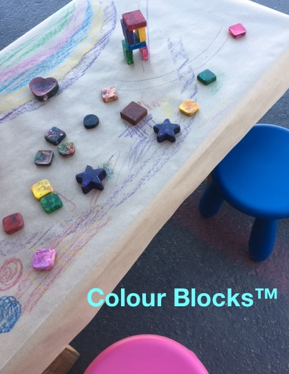 Handcrafted Square Block Toddler Crayons, Jumbo!, best crayon for children