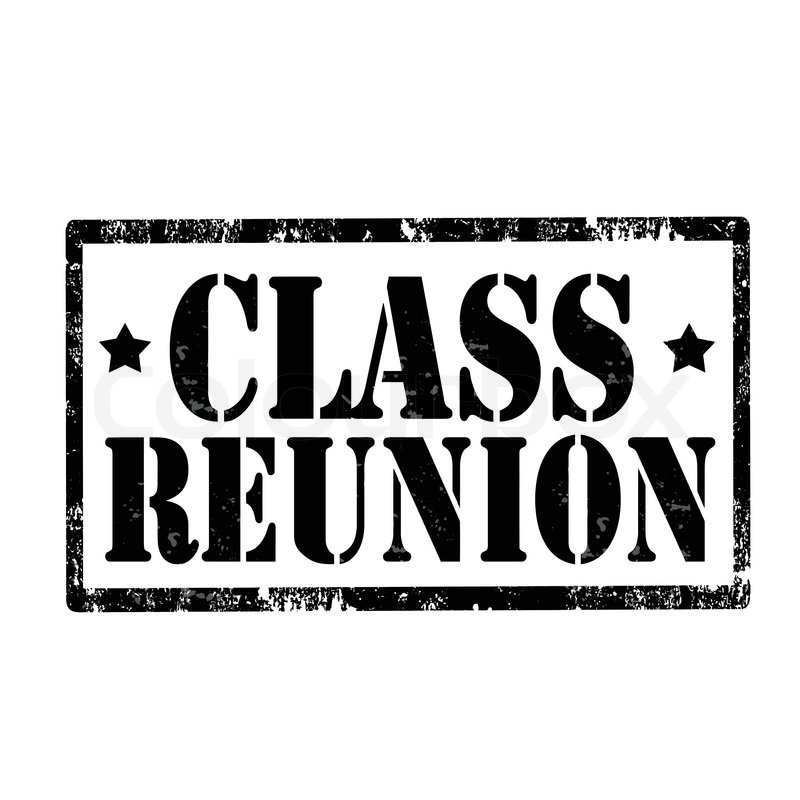 Grunge rubber stamp with text Class Reunion,vector