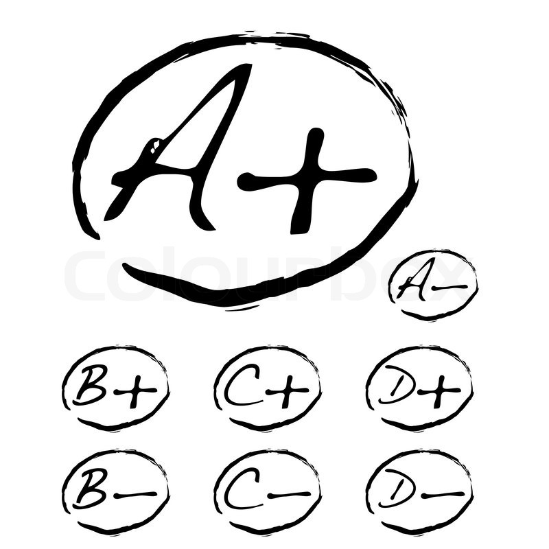 Teachers pet collection with a plus sign and negative mark