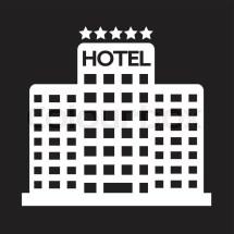 Five Star Hotel Icon Stock Vector Colourbox