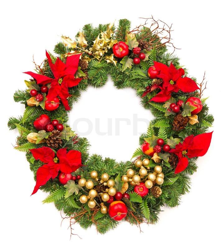 Fruit Clip Art Holiday Wreath