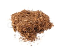 Tobacco for Rolling Cigarettes Isolated on White