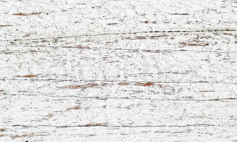 Close up of old white wood natural texture background