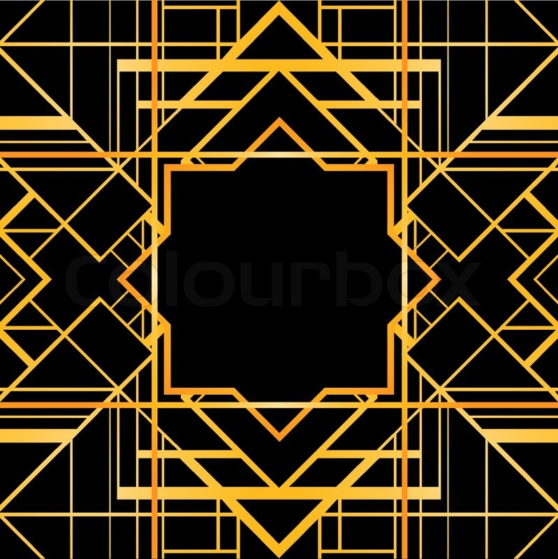 Black And Gold Home Decor