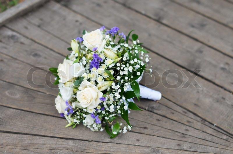 Schne Hochzeit Blumen Blumenstrau  StockFoto  Colourbox