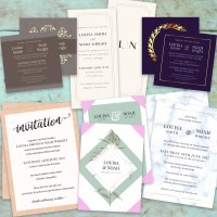 Deluxe Wedding Stationery Sets - Colour Company Southampton