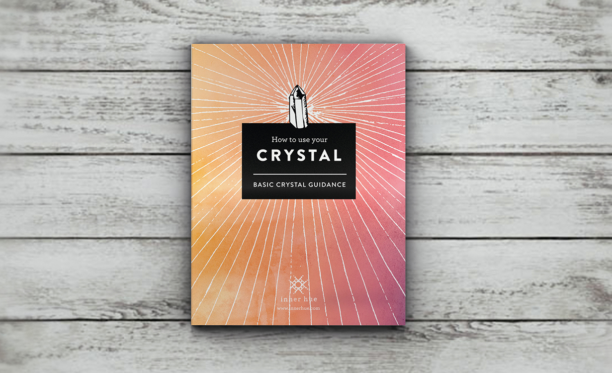 How yo use your Crystal Guide eBook design by Tegan Swyny of Colour Cult, Brisbane