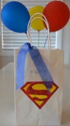 Supergirl party bag