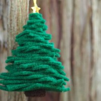 Christmas Tree Ornament for Kids to Make