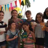 Teaching friends to sew: Sew a Softie Kid Ambassadors