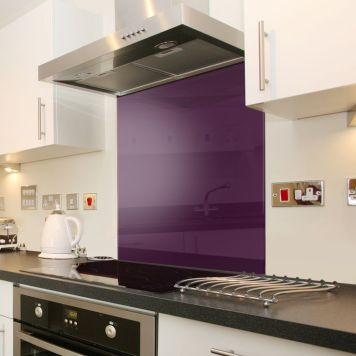 Luxury Coloured Glass Splashback,By Colouredglass.co.uk