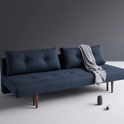 John Lewis Sofa Bed Fabric Online Bangalore Top 10 Beds For Small Spaces Colourful Beautiful Things Dark Blue Recast With Grey Blanket