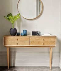 Top 10: console tables with storage for small spaces ...