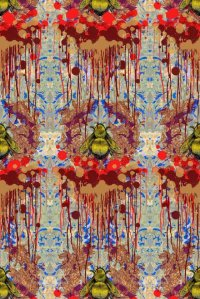 New wallpaper designs from Timorous Beasties  Colourful ...