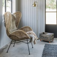 Contemporary rattan furniture  Colourful Beautiful Things
