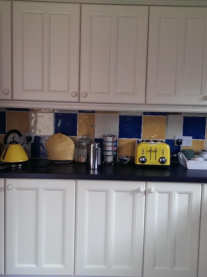 Colourfull Kitchens Ltd Spray Painting Kitchen