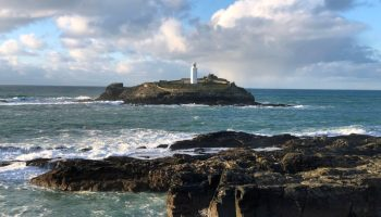 Godrevy Lighthouse: Square format photos – Colour My Days