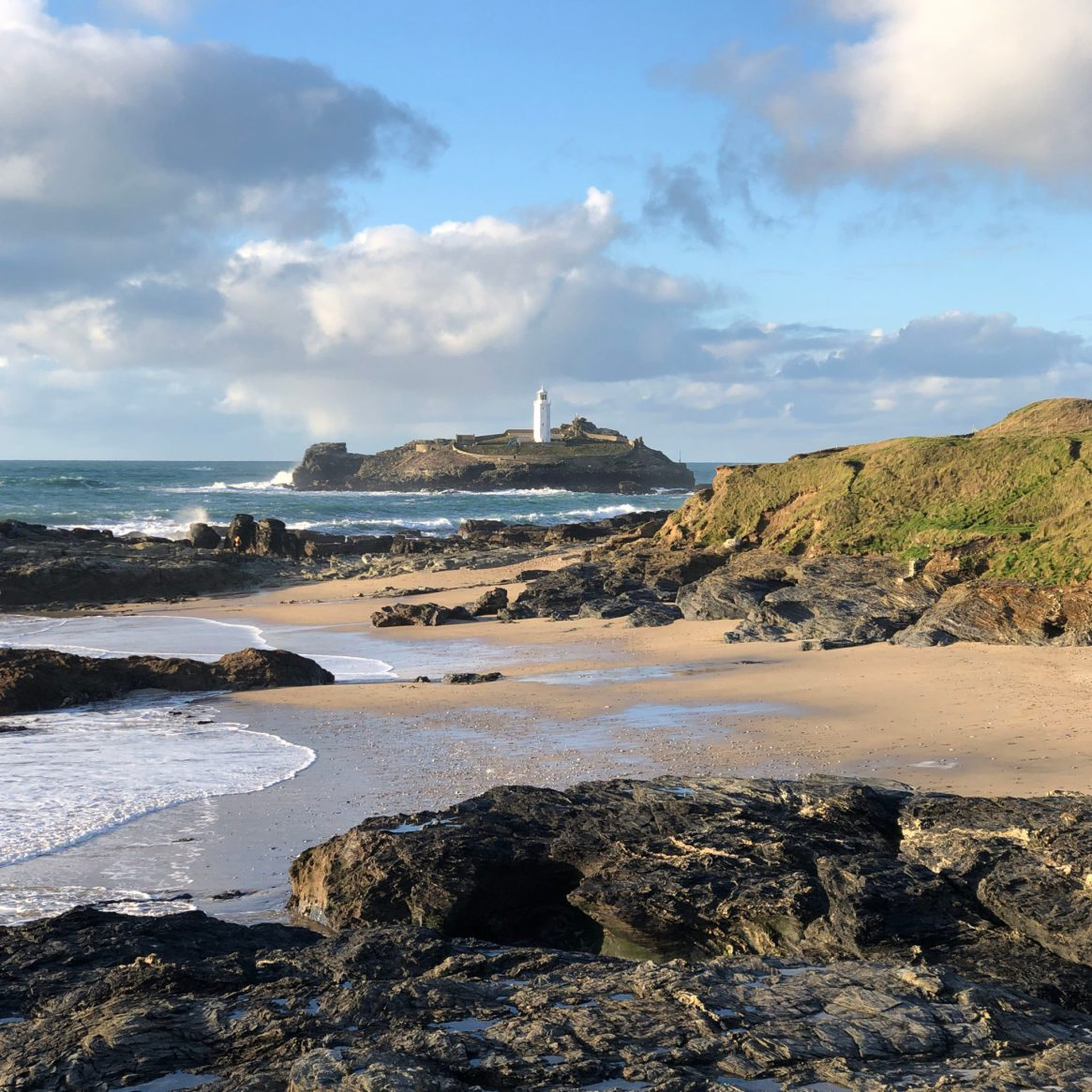 Godrevy Lighthouse from Godrevy Beach_8150sq