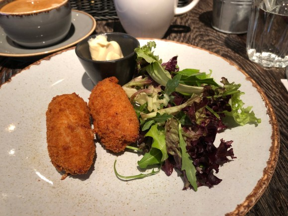 Duck Croquettes Plate