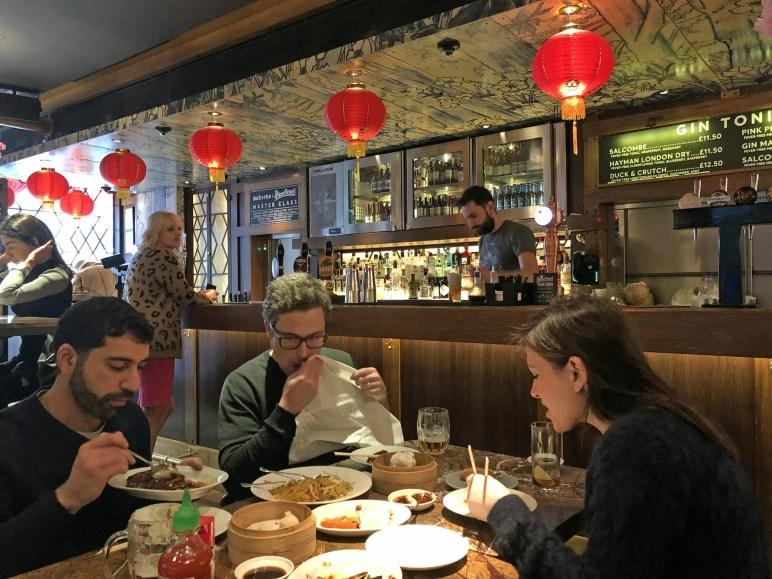 Duck and RIce Interior Gin Tonic Bar